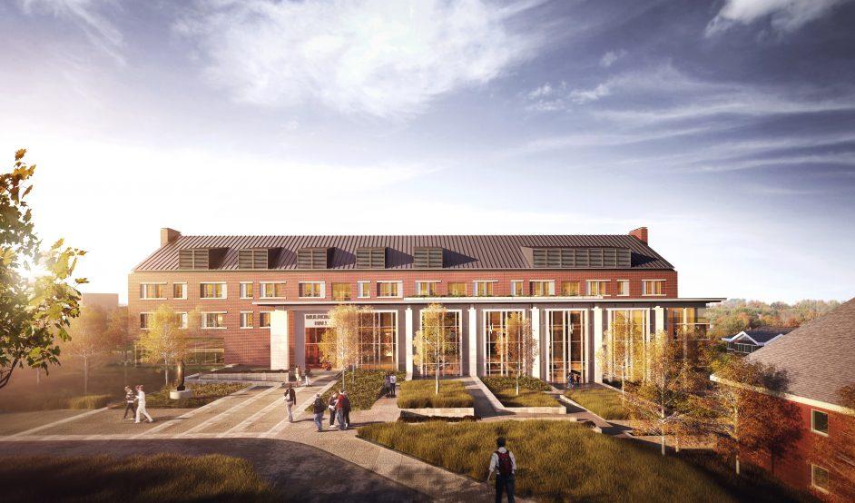 M. Brian Mulroney Hall Project Hits Major Milestone