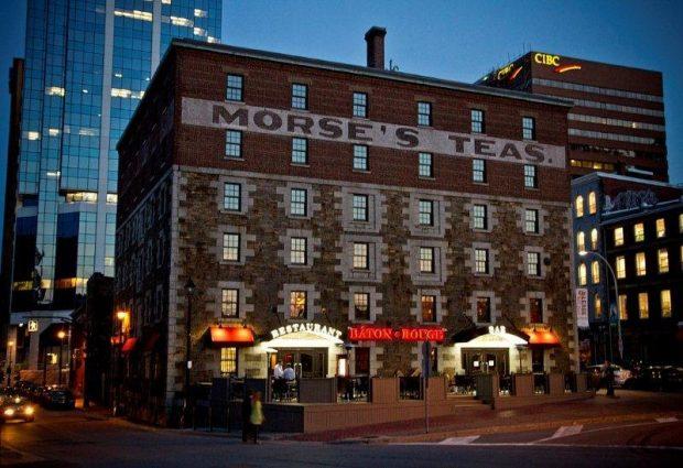 Bâton Rouge at the Morse's Teas Building