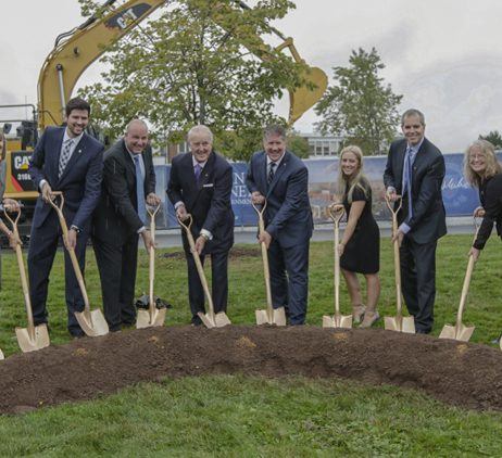 STFX Breaks Ground on Mulroney Institute of Government
