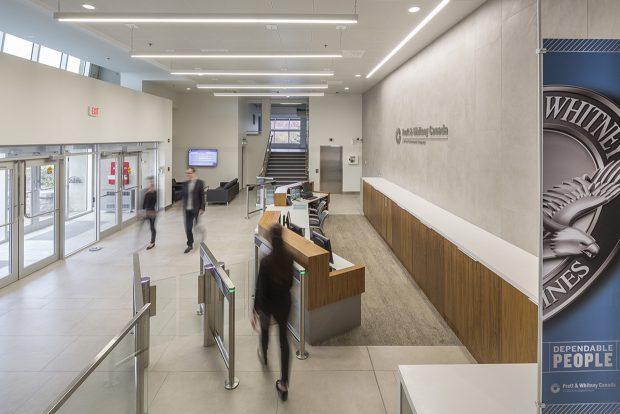 Lobby Renovation & New Entry