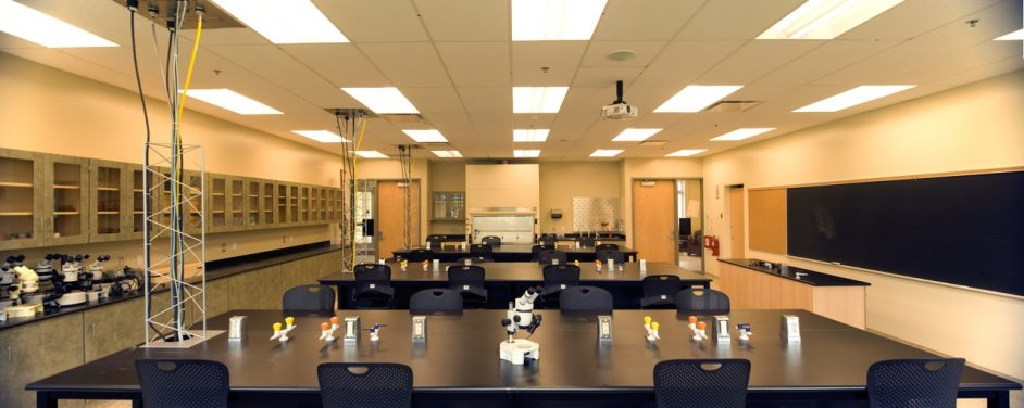 New Acadia Biology Building